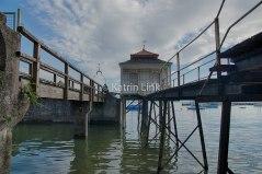 Genuss mit Geschichte: Bade- und Bootshaus Wasserburg am Bodensee (© K. Link)