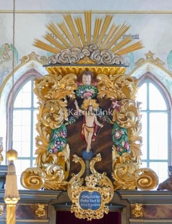 Markgrafenkirchen: Schauenstein/Lkr. Hof Altarauszug (© K. Link)