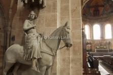 Bamberger Dom: Blick auf den Bamberger Reiter (© K. Link)